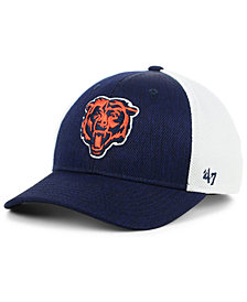 '47 Brand Chicago Bears Hazy Flex CONTENDER Stretch Fitted Cap
