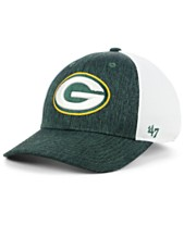 2b8ed8ca5ebb7  47 Brand Green Bay Packers Hazy Flex CONTENDER Stretch Fitted Cap