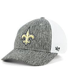 '47 Brand New Orleans Saints Hazy Flex CONTENDER Stretch Fitted Cap