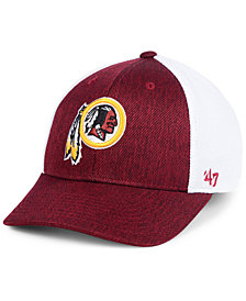 '47 Brand Washington Redskins Hazy Flex CONTENDER Stretch Fitted Cap