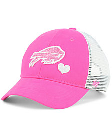 '47 Brand Girls' Buffalo Bills Sugar Sweet Mesh Adjustable Cap