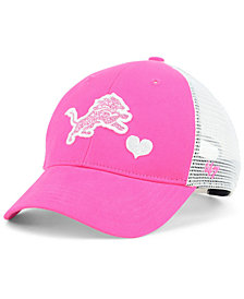 '47 Brand Girls' Detroit Lions Sugar Sweet Mesh Adjustable Cap