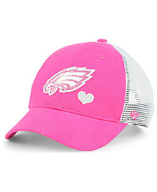 '47 Brand Girls' Philadelphia Eagles Sugar Sweet Mesh Adjustable Cap
