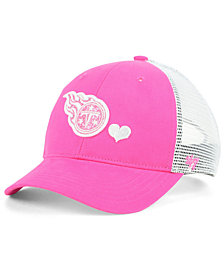'47 Brand Girls' Tennessee Titans Sugar Sweet Mesh Adjustable Cap