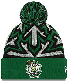 New Era Boston Celtics Glowflake Cuff Knit Hat