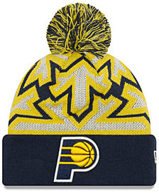 New Era Indiana Pacers Glowflake Cuff Knit Hat