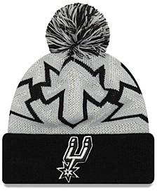 San Antonio Spurs Glowflake Cuff Knit Hat