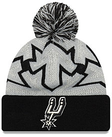 New Era San Antonio Spurs Glowflake Cuff Knit Hat