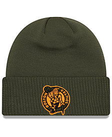 New Era Boston Celtics Tip Pop Cuffed Knit Hat