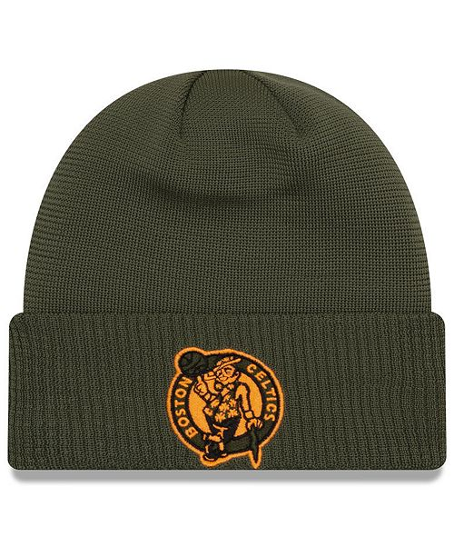 new style beauty quality design New Era Boston Celtics Tip Pop Cuffed Knit Hat & Reviews - Sports ...