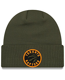 New Era Toronto Raptors Tip Pop Cuffed Knit Hat
