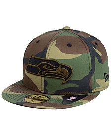 New Era Seattle Seahawks Woodland Prism Pack 59FIFTY-FITTED Cap