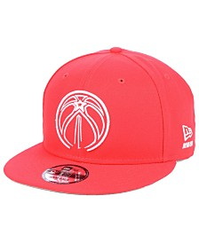 New Era Washington Wizards Logo Trace 9FIFTY Snapback Cap