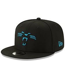 New Era Boys' Carolina Panthers Logo Elements Collection 9FIFTY Snapback Cap