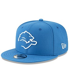 New Era Boys' Detroit Lions Logo Elements Collection 9FIFTY Snapback Cap