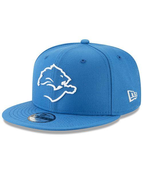 buy popular 1ef1b 57b8b ... New Era Boys  Detroit Lions Logo Elements Collection 9FIFTY Snapback ...