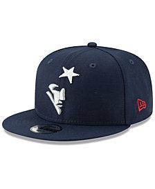 New Era Boys' New England Patriots Logo Elements Collection 9FIFTY Snapback Cap