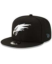 New Era Boys' Philadelphia Eagles Logo Elements Collection 9FIFTY Snapback Cap