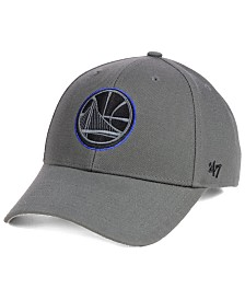 '47 Brand Golden State Warriors Charcoal Pop MVP Cap