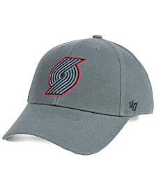 '47 Brand Portland Trail Blazers Charcoal Pop MVP Cap