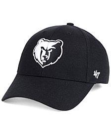 '47 Brand Memphis Grizzlies Black White MVP Cap