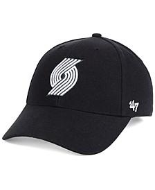 Portland Trail Blazers Black White MVP Cap