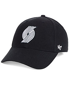 '47 Brand Portland Trail Blazers Black White MVP Cap