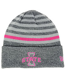 New Era Iowa State Cyclones Striped Chill Knit Hat