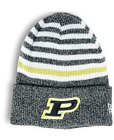 New Era Purdue Boilermakers Striped Chill Knit Hat
