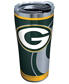 Green Bay Packers 20oz Rush Stainless Steel Tumbler
