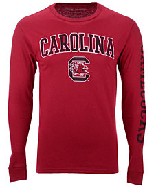 Colosseum Men's South Carolina Gamecocks Midsize Slogan Long Sleeve T-Shirt