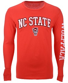 Colosseum Men's North Carolina State Wolfpack Midsize Slogan Long Sleeve T-Shirt