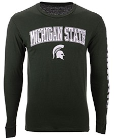 Men's Michigan State Spartans Midsize Slogan Long Sleeve T-Shirt