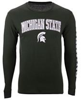 bf078b1301639 Colosseum Men s Michigan State Spartans Midsize Slogan Long Sleeve T-Shirt