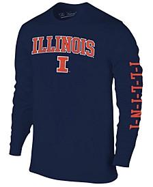 Men's Illinois Fighting Illini Midsize Slogan Long Sleeve T-Shirt