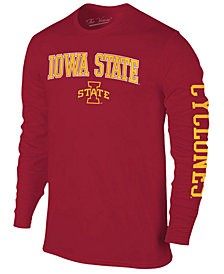 Colosseum Men's Iowa State Cyclones Midsize Slogan Long Sleeve T-Shirt