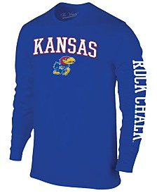 Colosseum Men's Kansas Jayhawks Midsize Slogan Long Sleeve T-Shirt