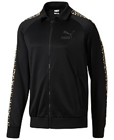 Puma Men's Wild Pack Cat-Print Track Jacket