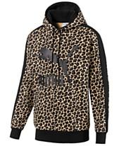 094f3da65940f Puma Men's Cat-Print Logo Hoodie