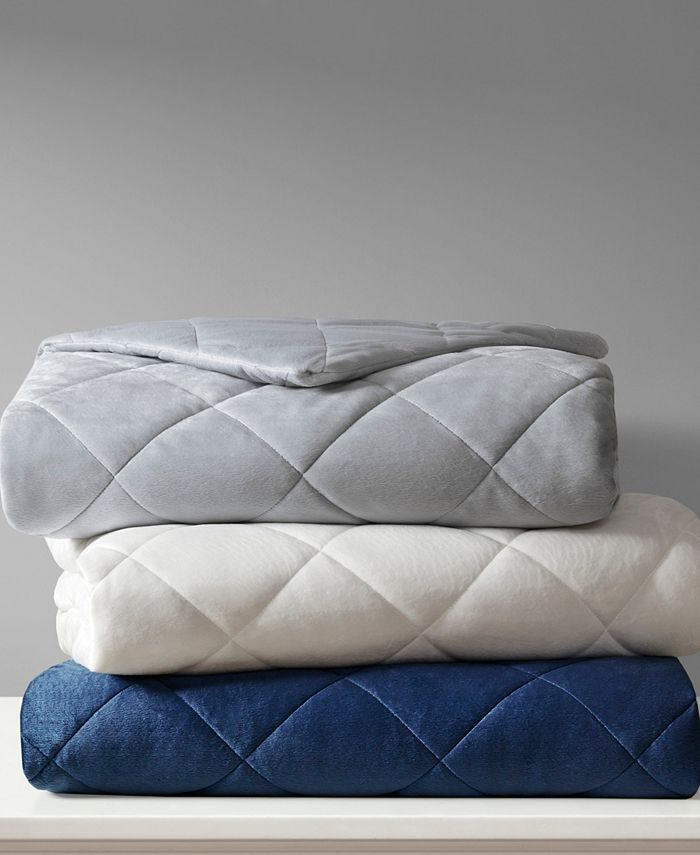 Beautyrest - Luxury 18lb Quilted Mink Weighted Blanket