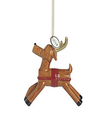 Fitz and Floyd Toyland Deer Ornament, Dated 2018