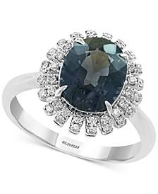EFFY® Gray Spinel (3-3/8 ct. t.w.) & Diamond (1/5 ct. t.w.) Ring in 14k White Gold