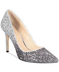 Jewel Badgley Mischka Malta Evening Pumps