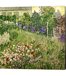 Daubigny's Garden, 1890 by Vincent Van Gogh Canvas Art