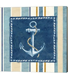 Nautical Stripe III by Cynthia Coulter Canvas Art