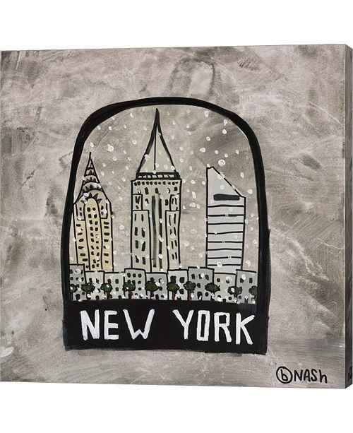 Metaverse New York Snowglobe by Brian Nash Canvas Art