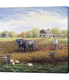 The Land Provides by Kevin Dodds Canvas Art