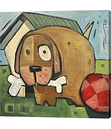 Dog Poster 2 by Tim Nyberg Canvas Art