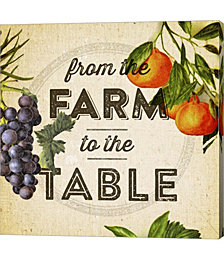 Farm to Table I by Dallas Drotz Canvas Art