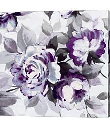 Scent of Roses Plum III by Wild Apple Portfolio Canvas Art